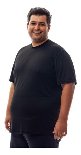 Kit 3 Camisetas Plus Size Dry Fit Poliamida Corrida Academia