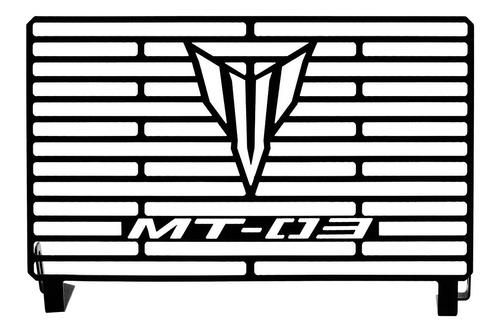 Protetor De Radiador Mt03 Mt 03 Aço Carbono 2018 2019 2020