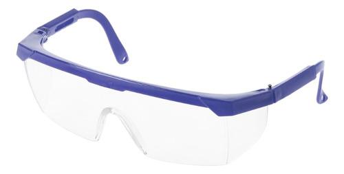 Óculos De Seguro Trabalhista Lentes Brancas Com Armação Az