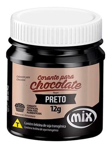 Corante Chocolate Lipossolúvel Mix - Escolha As Cores