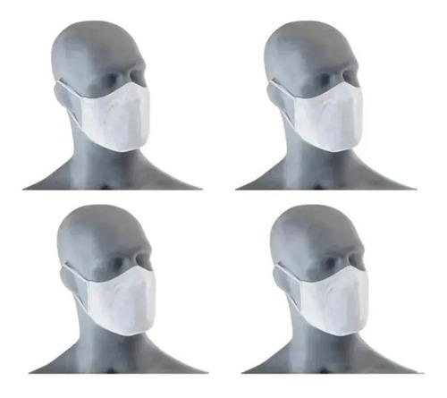Kit 4 Mascaras Fit Lupo Dup. Camada Lav. Antimicrobial
