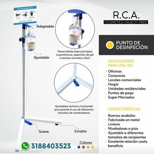 Puntos De Desinfección Para Dispensadores Gel Antibacterial
