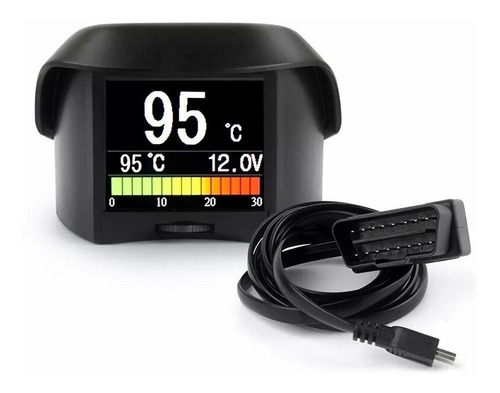 Monitor Obd2 Ancel A202 Velocidad, Temperatura, Codigo Error