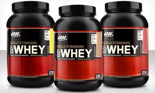 Proteina Gold Standard 100% Whey 5 Libras