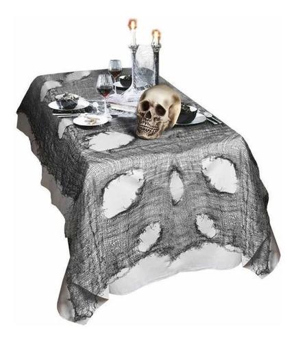 Toalha Cortina Para Decorar As Festas De Halloween 120x120
