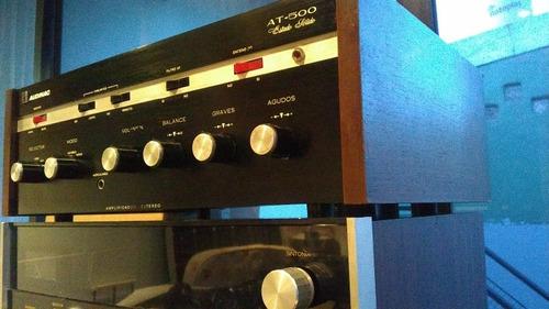 Amplificador Audinac At500 Estado Sólido Original Excelente.