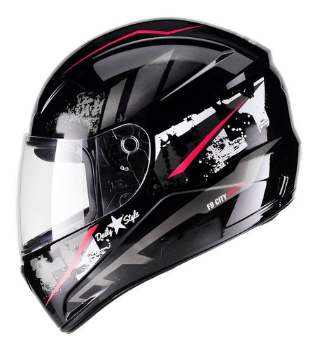 Capacete Moto Masculino Feminino Fly F 9 City