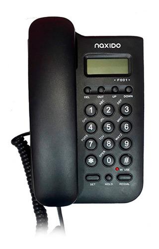 Teléfono Fijo Naxido F001 Negro