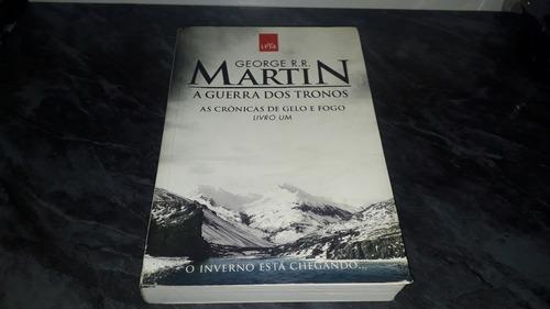 Livro Games Of The Thrones. Guerra Dos Tronos. Livro 1.