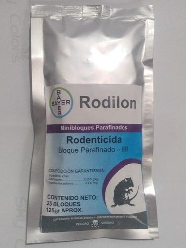 Veneno Ratas Ratones Rodilon Bayer - Unidad a $1120