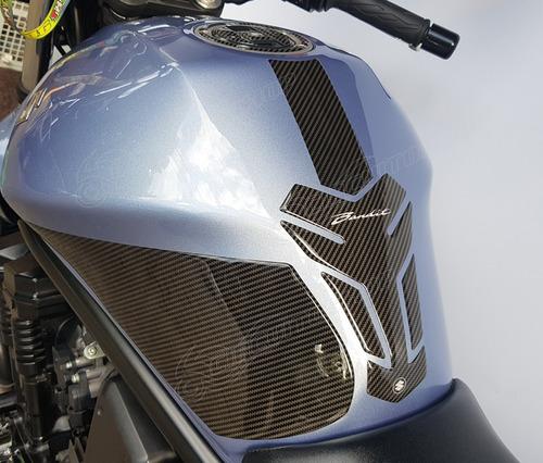 Protetor Tanque Faixa Bocal Lateral Suzuki Moto Bandit 650
