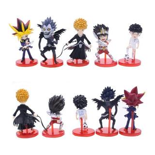 Set De 5 Figuras Ryuk, Subasa,saint Seiya, Bleach, Yu Gi Oh