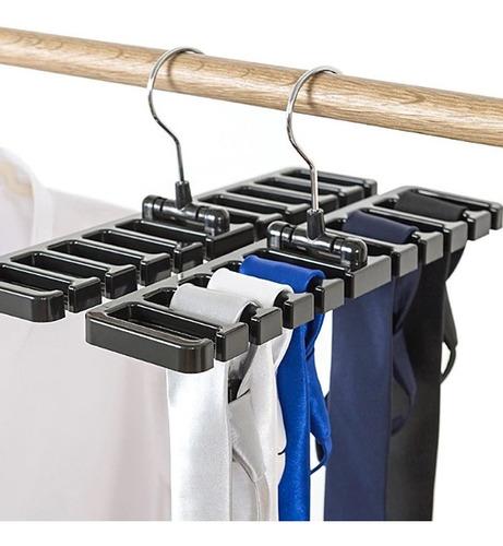 Cabide Porta Organizador Gravatas Cintos Lenços Biju Bolsas