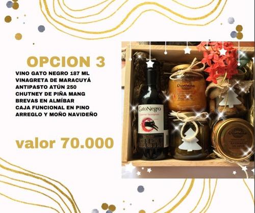 Regalo Anchetas Navideñas - Unidad a $70000