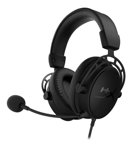 Headset Gamer Hyperx Cloud Alpha S Blackout 7.1 Hx-hscas-bk