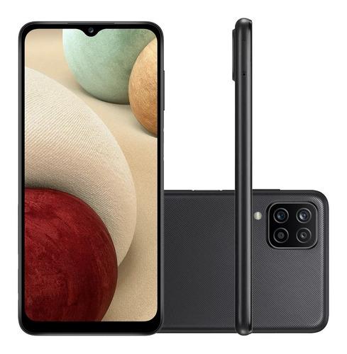 Celular Samsung Galaxy A12 A125 Dual 6.5  64gb 4gb Ram Preto