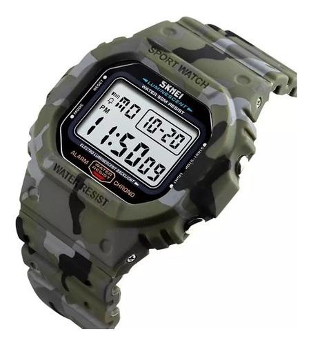 Relógio Skmei 1471 Prova Água Militar Esportes Promoção