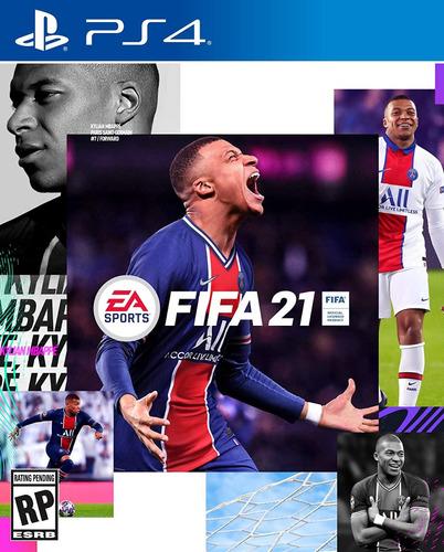 Fifa 21 Juego Ps4 Play 4 Digital Original + Garantia