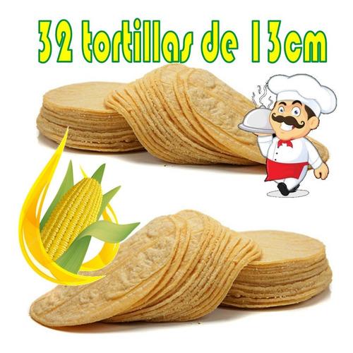 Tortilla Maiz Mexicana Tacos 32unid - Unidad a $294