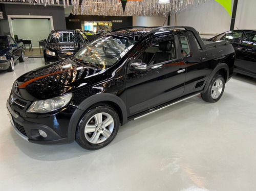Volkswagen Saveiro Cross Ce 1.6 8v Flex 2013 Preta Pickup