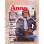 Revista Anna Burda 8 Tricô Casaco Almofadas Crochê X386