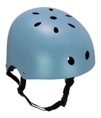 Capacete Skate Bmx Patins Adulto Azul G - Atrio