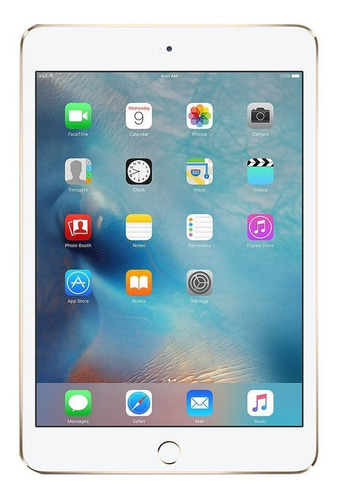 iPad Apple Mini 4ª Generación 2015 A1550 7.9  32gb Gold Con Memoria Ram 2gb