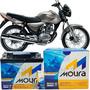 Bateria Moura Cg150 Titan Es/esd/ Mix 2004/2015 Frete Grátis