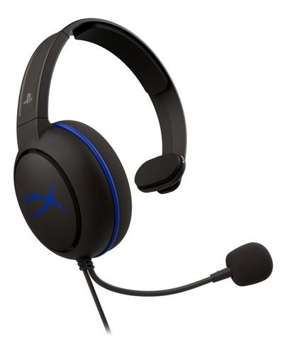 Headset Gamer Hyperx Cloud Chat Ps4 Preto - Hx-hscchs-bk/am
