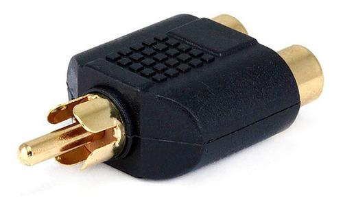 Monoprice 7186 Adaptador Divisor De Plug Rca A 2x Rca Jacks