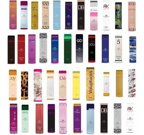 Kit 8  Perfumes 15ml Amakha Paris - (frete Grats)