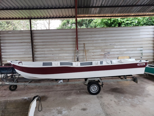 Barco Bote Fibra Pesca 6,30 Console Artsol 40 Anos Fabrica