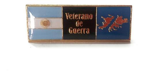 Emblema Malvinas Veterano De Guerra