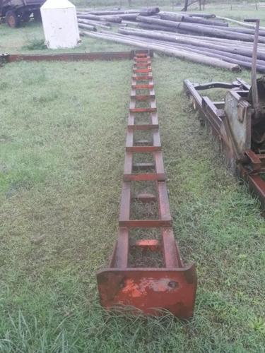 Pórtico Industrial Con Aparejo, Columnas De 6 Metros