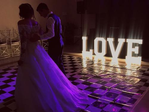 Letreiro Love Iluminado 70 Cm Altura Mega Promoção