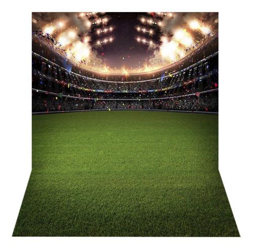 Fundo Fotográfico Tecido Newborn Futebol 1, 5x2, 2m Ffb 257