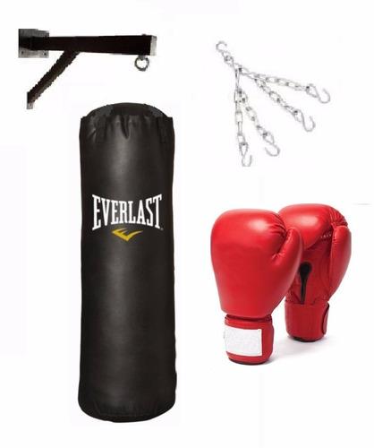 Saco De Box Lleno De 1,50cm+soporte+cadena+guantes Promocion