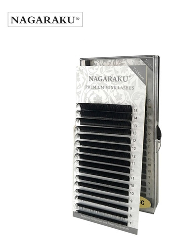 Cílios Nagaraku Premium Mix (7a15) Volume Russo E Fio A Fio