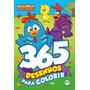 Livro Infantil 365 Desenhos Para Colorir Galinha Pintadinha