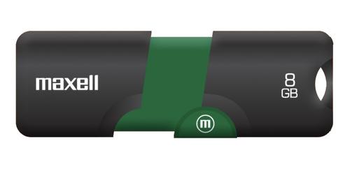 Pendrive Maxell Flix 8gb 2.0 Verde