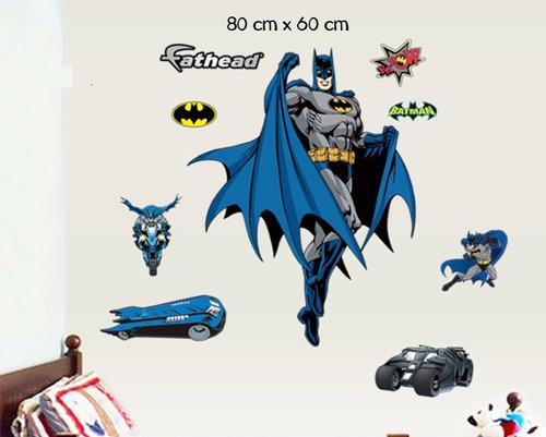 Pegotin Vinilo De Pared Batman Super Heroes