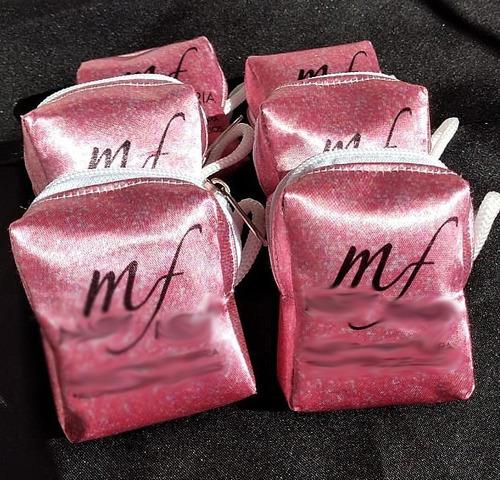 15 Bolsinha Porta Moedas Niquel Batom Personalizada Glitter