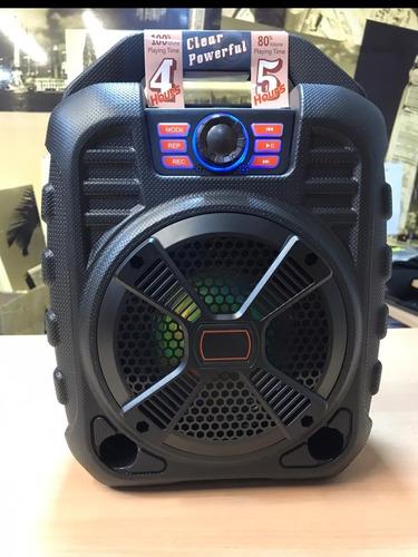 Parlante Bt Portable Mobo Con Micrófono