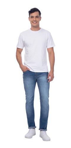Calça Jeans Super Skinny Azul Claro Mizu