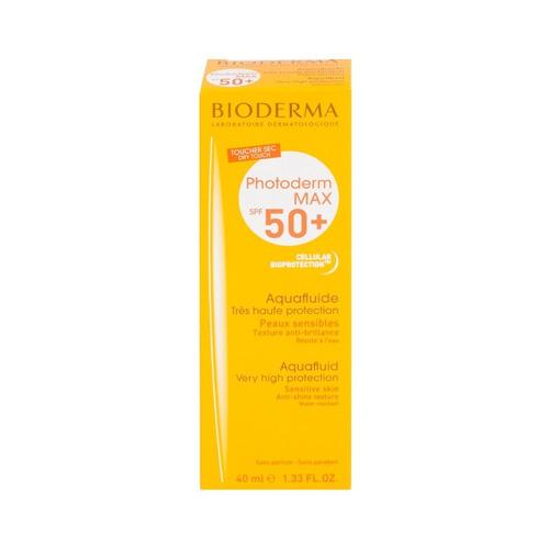 Protector Solar Bioderma Photoderm Max Aquafluide Para Rostro Crema Resistente Al Agua Fps50 X 40ml