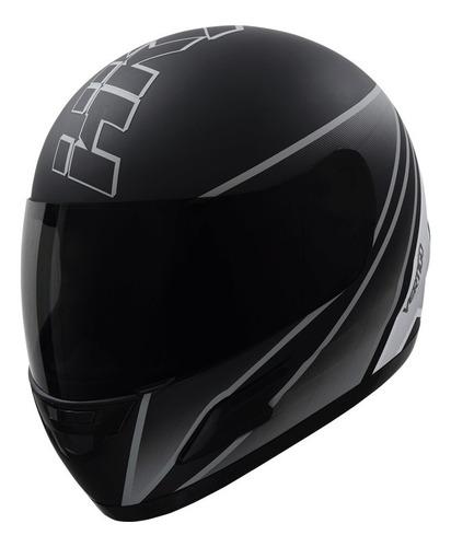 Casco Para Moto Integral Vértigo Hk7  Gris Mate Talle Xl