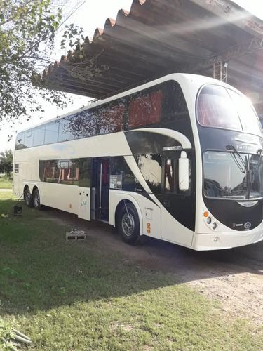 Omnibus Doble Piso Scania Metalsur Starbus 2 Cama Cuero