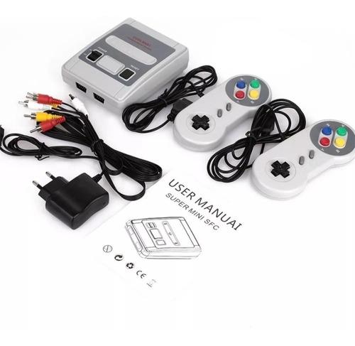 Super Mini Sfc Retrô 620 Jogos 2 Controles Promoção