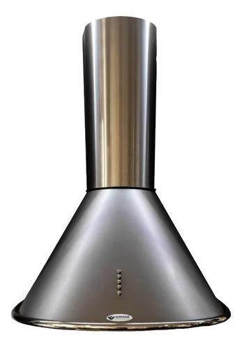 Extractor Purificador De Cocina Adrogué Ventilación Apsis Ac. Inox. De Pared 700mm X 330mm X 500mm Acero 220v