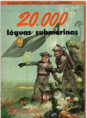 Álbum De Figurinhas 20.000 Léguas Submarinas (1956) Em Pdf